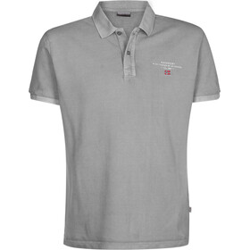 Napapijri Elbas Polo Men, med grey solid